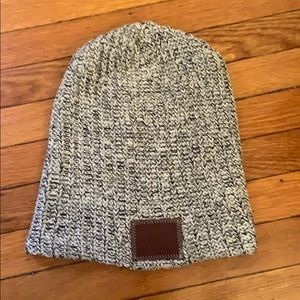 Love Your Melon grey speckled beanie